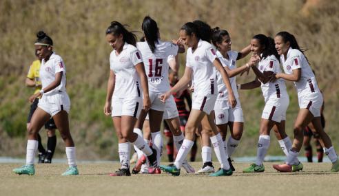 Ferroviária goleia Atlético-GO e vence a terceira no Brasileirão Feminino Sub-18