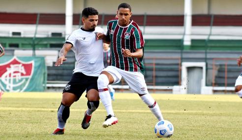 Brasileirão Sub-20: Fluminense e Ceará não saem do zero nas Laranjeiras