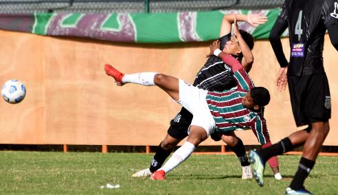 Fluminense e Ponte Preta empatam e estão fora do Brasileirão de Aspirantes