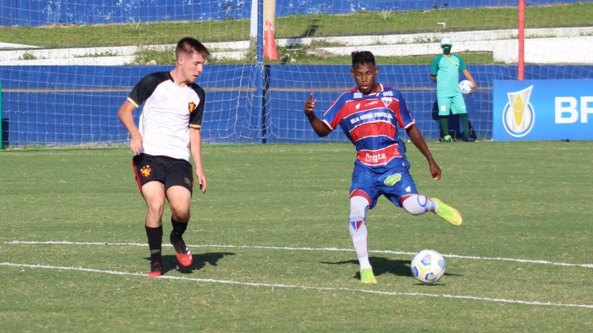 Fortaleza abre 3 a 1, mas Sport vira e passa rival no Brasileirão Sub-17
