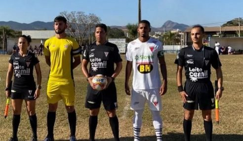 Nacional de Muriaé goleia Araguari e segue com chances no Mineiro sub-20