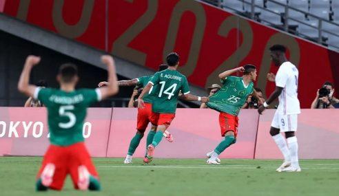 México estreia com goleada sobre a França pelos Jogos Olímpicos