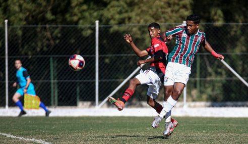Fluminense e Flamengo empatam no jogo de ida da final da Copa Rio Sub-15