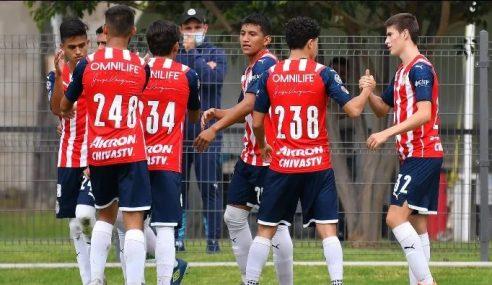 Chivas Guadalajara é o destaque da jornada inaugural do Mexicano Sub-18