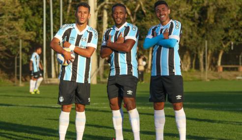 Grêmio goleia CRB e se isola na ponta do Grupo A do Brasileirão de Aspirantes