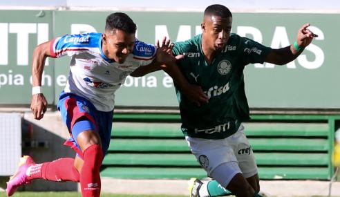 Palmeiras bate Bahia e vence a primeira no Brasileirão Sub-20
