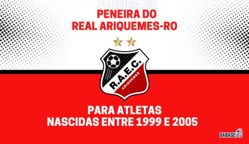 Real Ariquemes-RO realizará peneira para a equipe feminina sub-23