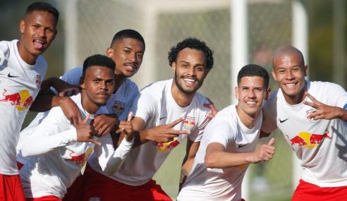 Com dois de Chrigor, Red Bull Bragantino vence Juventude pelo Brasileirão de Aspirantes