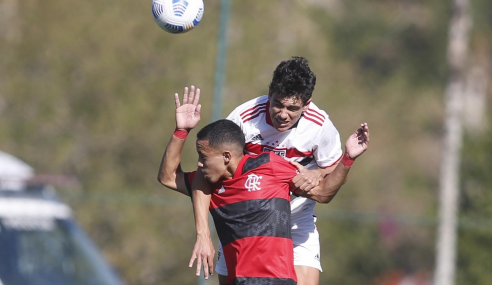 Em jogo de seis gols, São Paulo arranca empate com o Flamengo pelo Brasileirão Sub-17