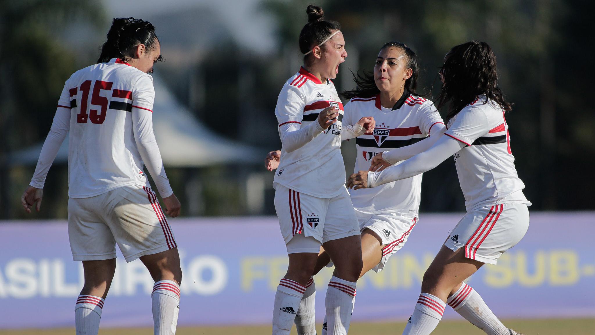 Em duelo de invictos, São Paulo vence Grêmio pelo Brasileirão Feminino Sub-18