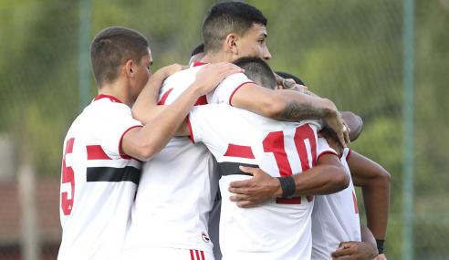 São Paulo vence Sport de virada e segue 100% no Brasileirão Sub-20