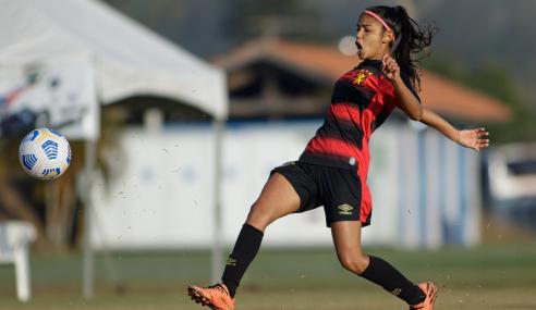 Sport vence Athletico-PR e soma primeiros pontos no Brasileirão Feminino Sub-18