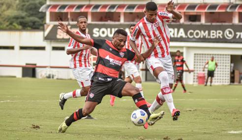 Goleiro brilha e CRB segura empate com o Vitória pelo Brasileirão de Aspirantes