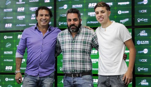 Filho do ex-atacante Luizão vai jogar na base do Guarani