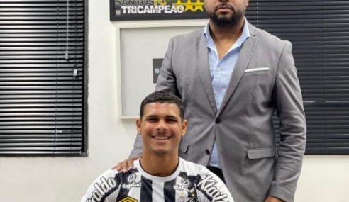 Santos renova contrato de promessa da base