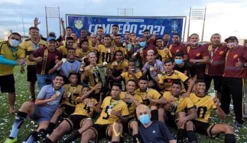 Santana conquista de forma invicta o Campeonato Amapaense Sub-20