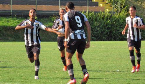 Botafogo vence Resende na ida das quartas do Carioca Sub-20