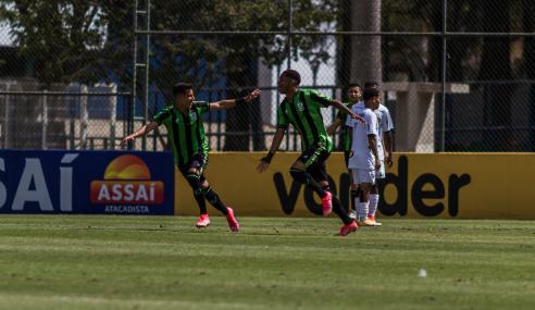 América bate Atlético e vence a primeira no Mineiro Sub-17