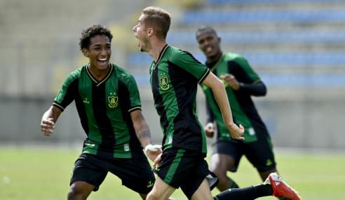 América-MG bate Botafogo e vence terceira seguida no Brasileirão Sub-20