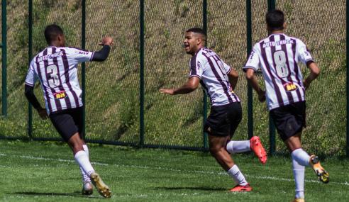 Atlético resolve no início do segundo tempo e vence Athletic pelo Mineiro Sub-17