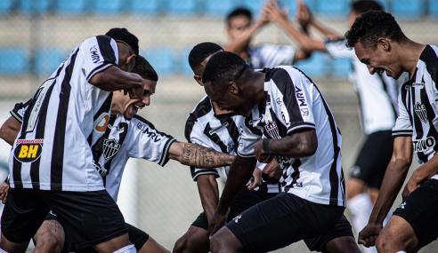 Atlético-MG bate Sport em casa e se firma no G-8 do Brasileirão Sub-20