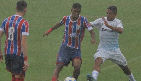 Grêmio abre 2 a 0, mas Bahia busca empate pelo Brasileirão Sub-20