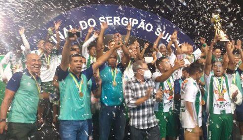 Lagarto é o campeão sergipano sub-20 de 2021