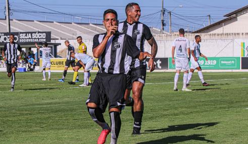 Com reforços do profissional, Ceará vence Grêmio pelo Brasileirão de Aspirantes