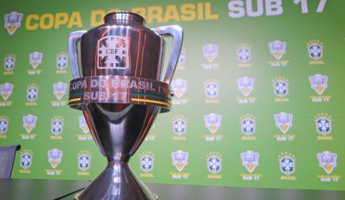 CBF divulga tabela das oitavas da Copa do Brasil Sub-17