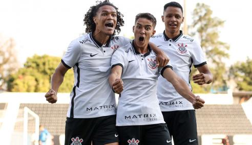 Corinthians goleia Atlético-GO e volta a vencer no Brasileirão Sub-20
