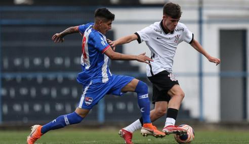 Corinthians leva empate do Nacional e tropeça em casa no Paulistão Sub-20