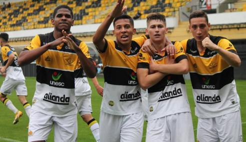 Em casa, Criciúma vence Dom Bosco e vai às oitavas da Copa do Brasil Sub-17