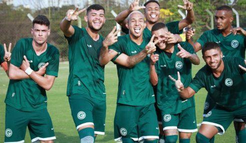 Goiás estreia com sonora goleada no Goiano Sub-20