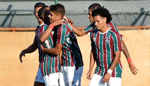 Nas Laranjeiras, Fluminense derrota Fortaleza e entra no G-8 do Brasileirão Sub-20