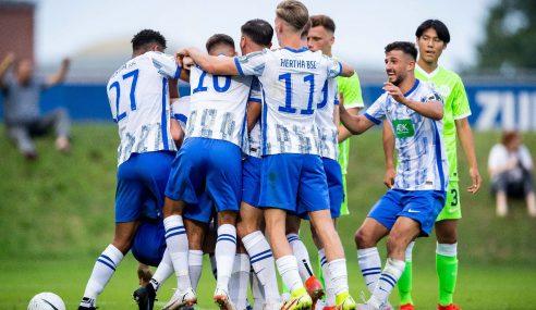 Gol no último minuto garante estreia vitoriosa do Hertha no Alemão Sub-19