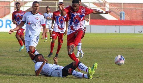 UNIRB e Vitória empatam sem gols pelas quartas do Baiano Sub-20