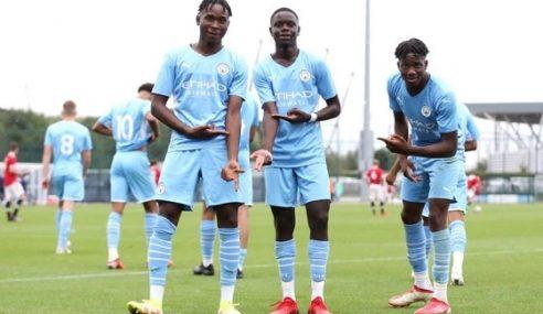 City goleia United em clássico válido pela rodada de abertura do Inglês Sub-18