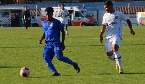 Santos vence a primeira no Paulista Sub-20