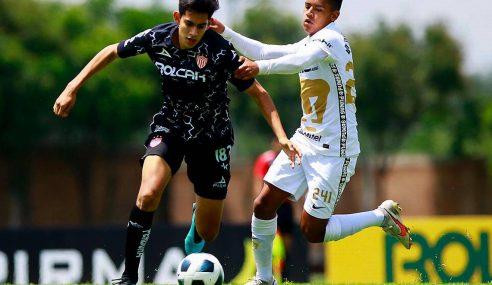 Necaxa segue na liderança invicta do Mexicano Sub-18