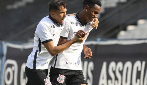 Corinthians goleia Red Bull Bragantino pelo Paulistão Sub-20