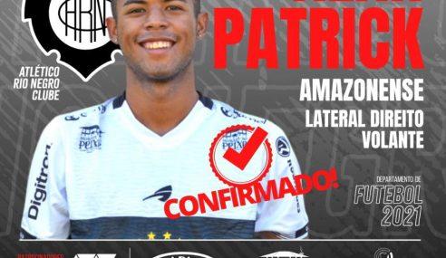 Rio Negro-AM contrata Alan Patrick
