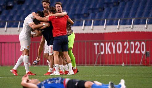 Espanha ganha na prorrogação e é a segunda finalista dos Jogos Olímpicos
