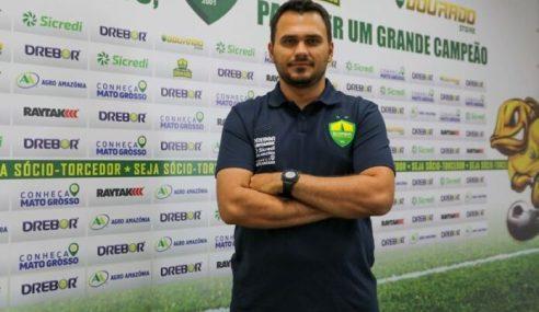 Cuiabá anuncia nome do novo treinador da categoria sub-17