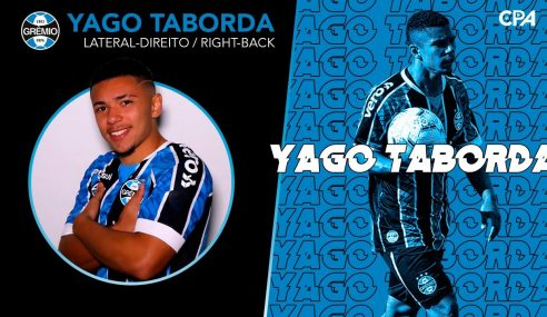 Grêmio negocia lateral-direito do time sub-20 com clube espanhol