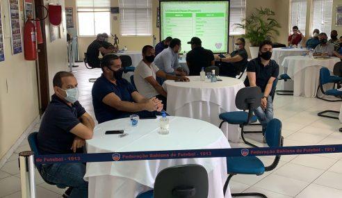 FBF e clubes definem fórmula do Baianão Sub-15 e também o Sub-17