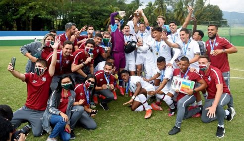 Fluminense sagra-se campeão da Copa Rio Sub-17