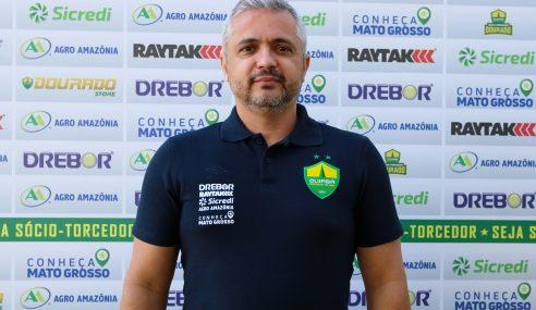 Cuiabá contrata ex-Vasco como técnico para a categoria sub-19