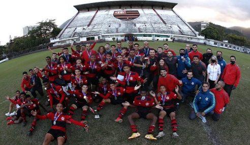 Flamengo conquista o título da Copa Rio Sub-15