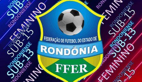 FFER divulga tabela do Rondoniense Sub-13