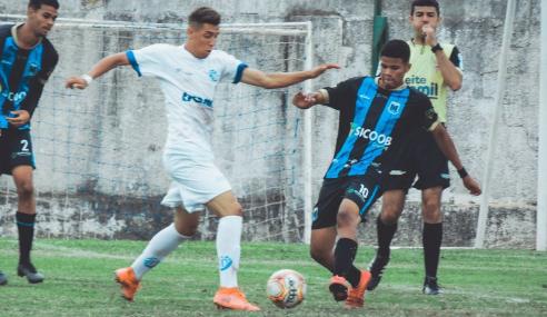 Em jogo de oito gols, Inter São Gotardo vence Dínamo em estreia no Mineiro Sub-17